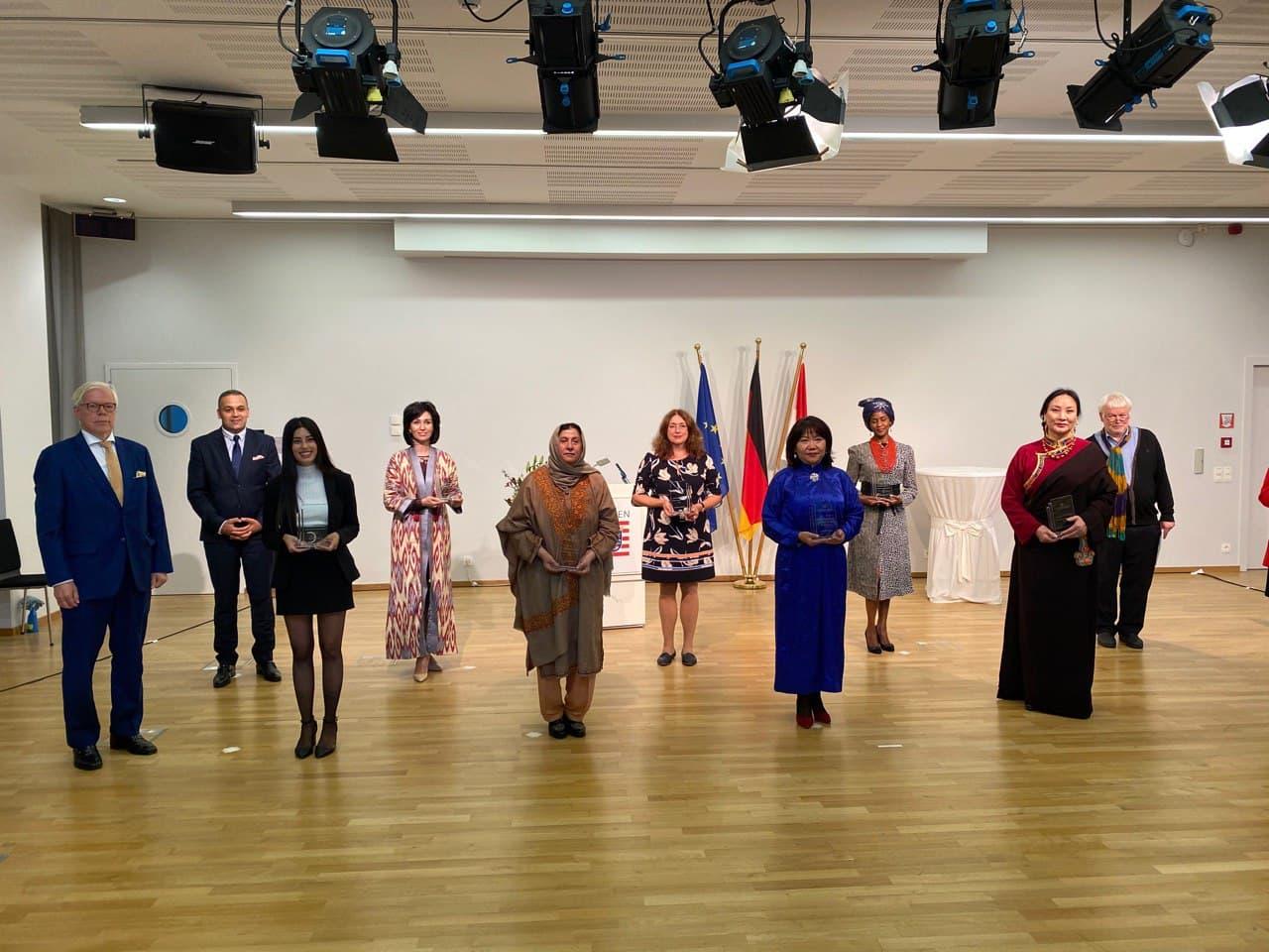 Head of TashCoE was awarded European International Women's Leadership Awards