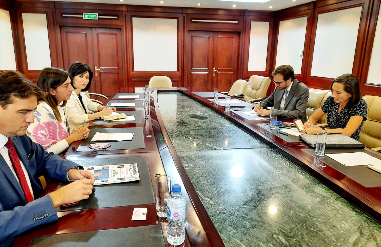 A meeting dedicated to the discussion of cooperation between Uzbekistan and EU was held